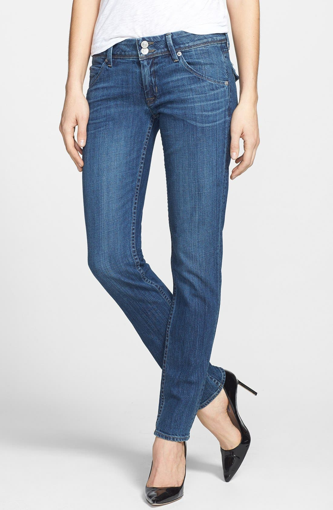 Alternate Image 1 Selected - Hudson Jeans 'Collin' Skinny Jeans (Prodigy)