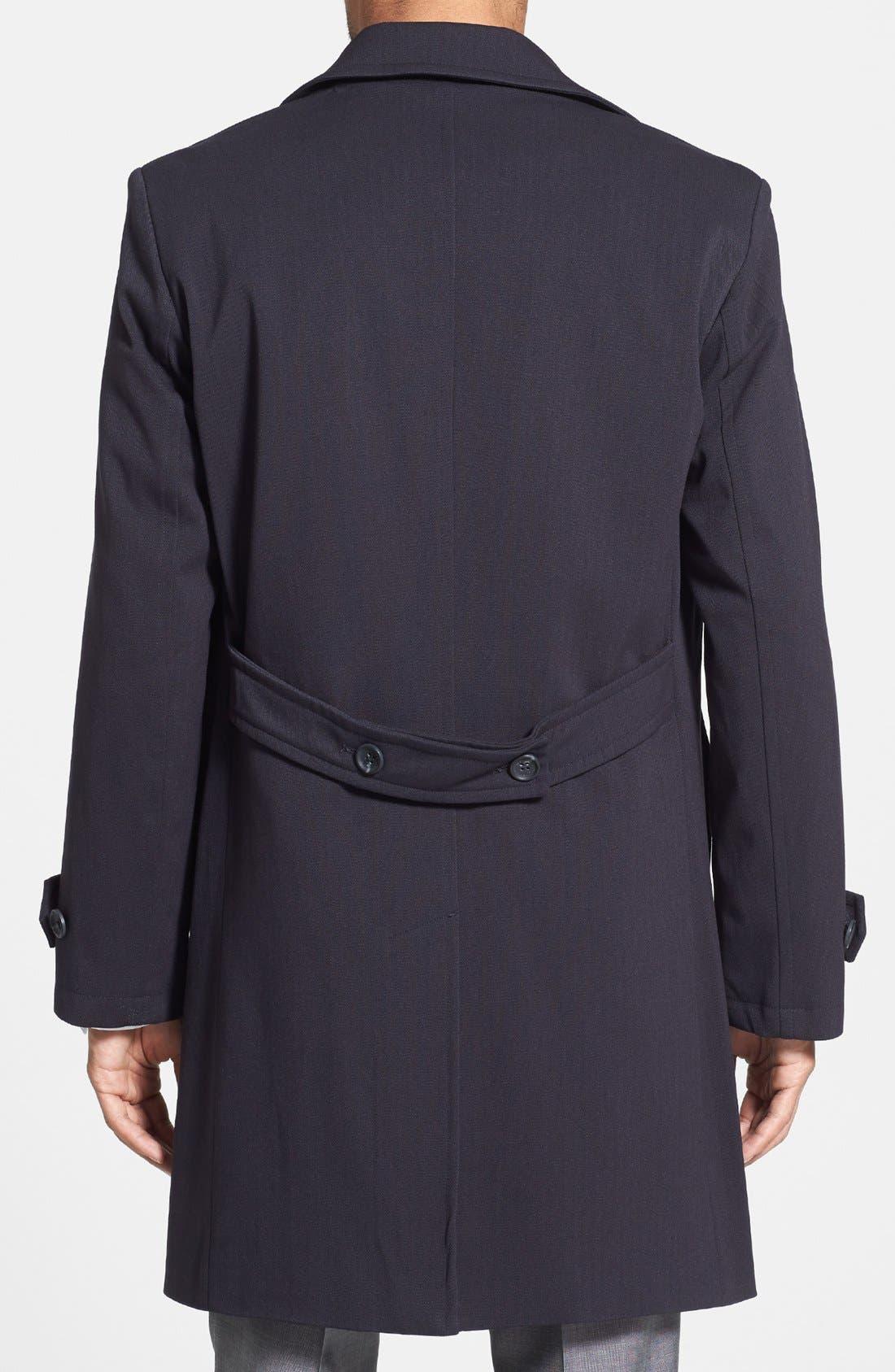 Alternate Image 2  - Michael Kors 'Laz' Waterproof Double Breasted Topcoat