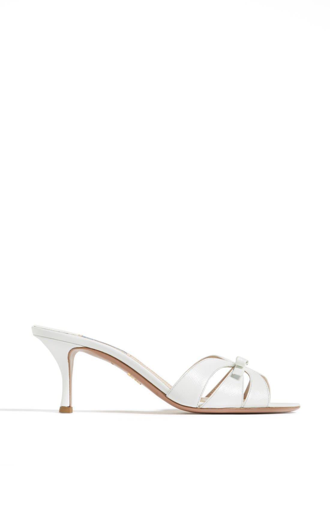 Alternate Image 4  - Prada Bow Slide Sandal