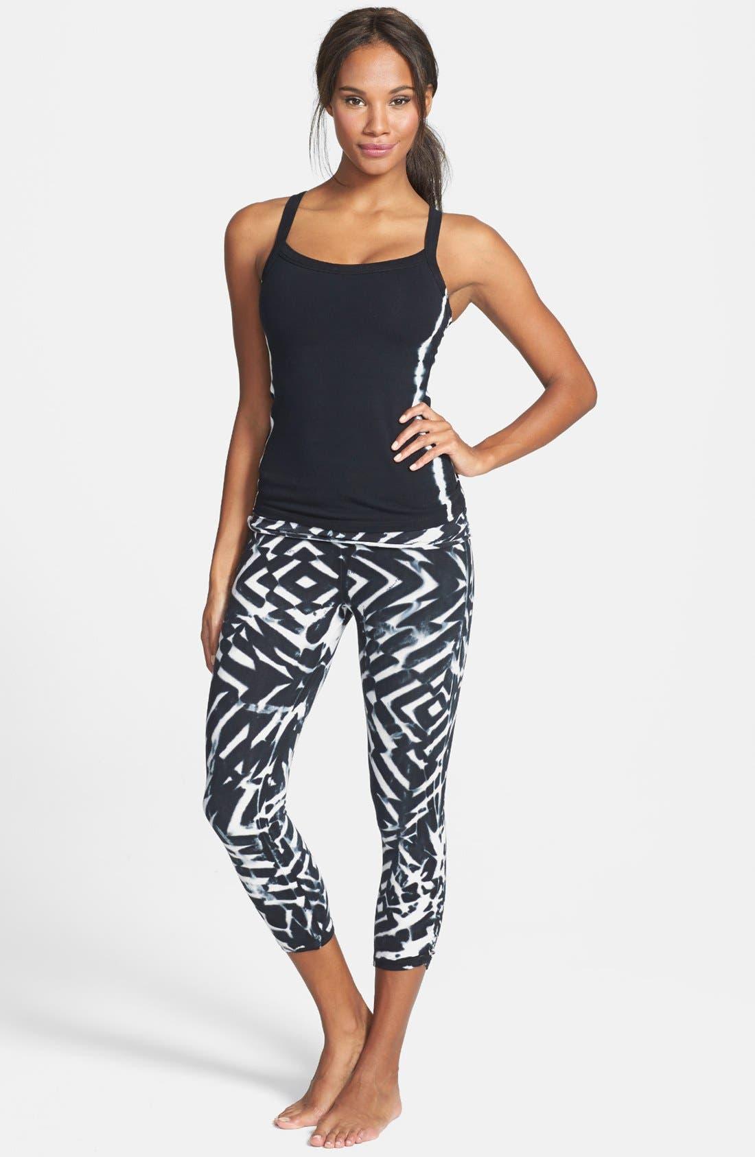 Alternate Image 3  - Omgirl 'Sporty Stripe Jiva' Camisole