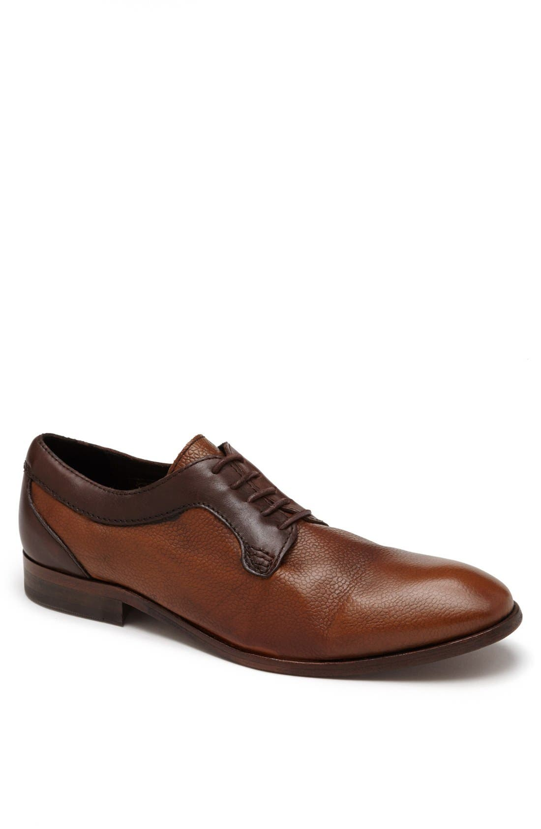 Main Image - H by Hudson 'Gould' Plain Toe Derby