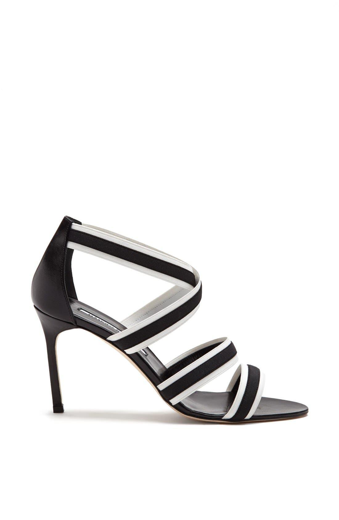 Alternate Image 4  - Manolo Blahnik 'Rigata' Sandal