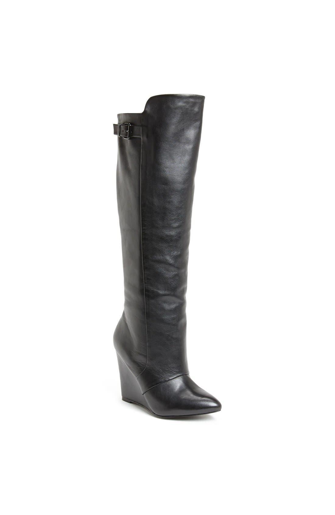 Alternate Image 1 Selected - Steve Madden 'Zylon' Leather Boot