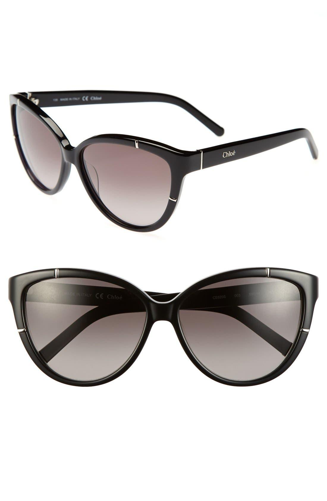 Alternate Image 1 Selected - Chloé 'Caspia' 59mm Sunglasses