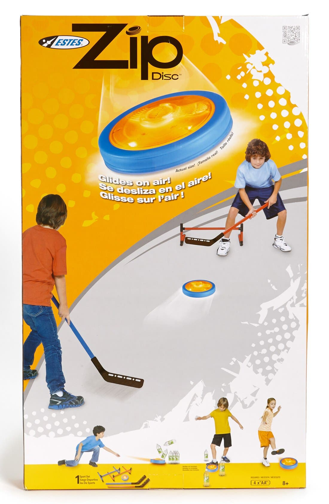 Alternate Image 1 Selected - Estes 'Zip Disc Hockey' Toy Set