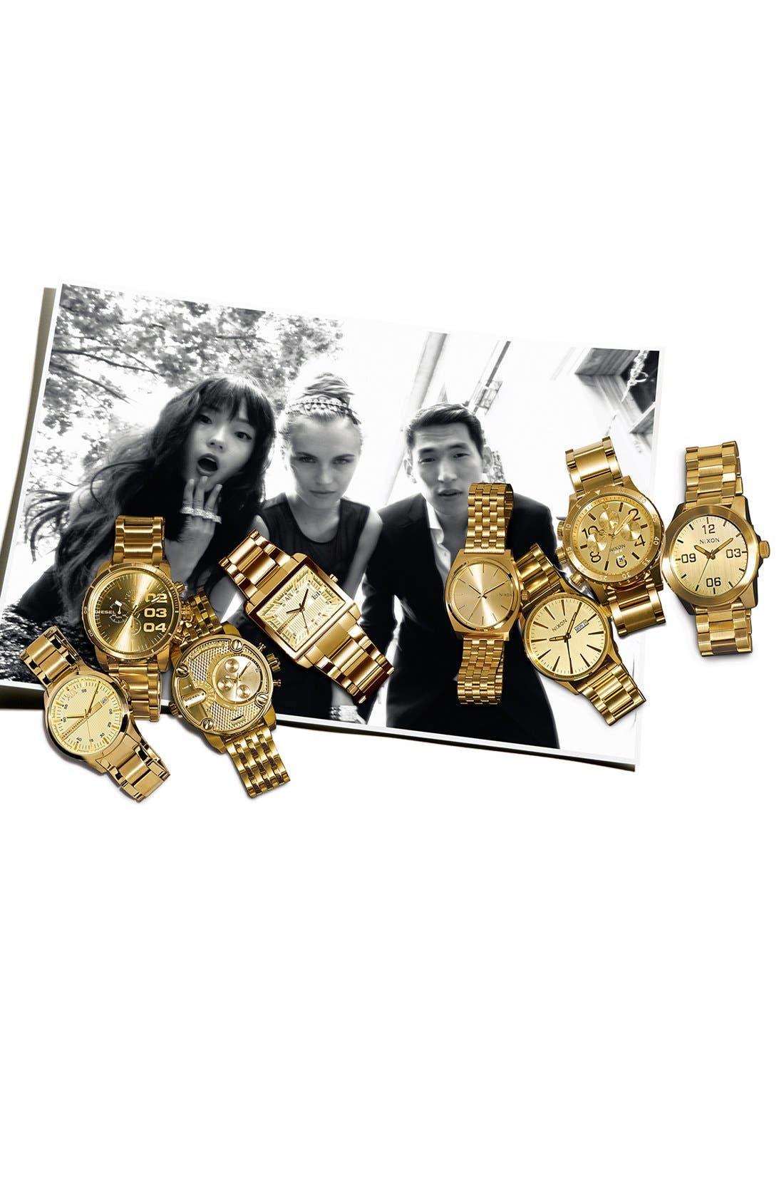 Alternate Image 5  - DIESEL® 'Little Daddy' Chronograph Bracelet Watch, 51mm
