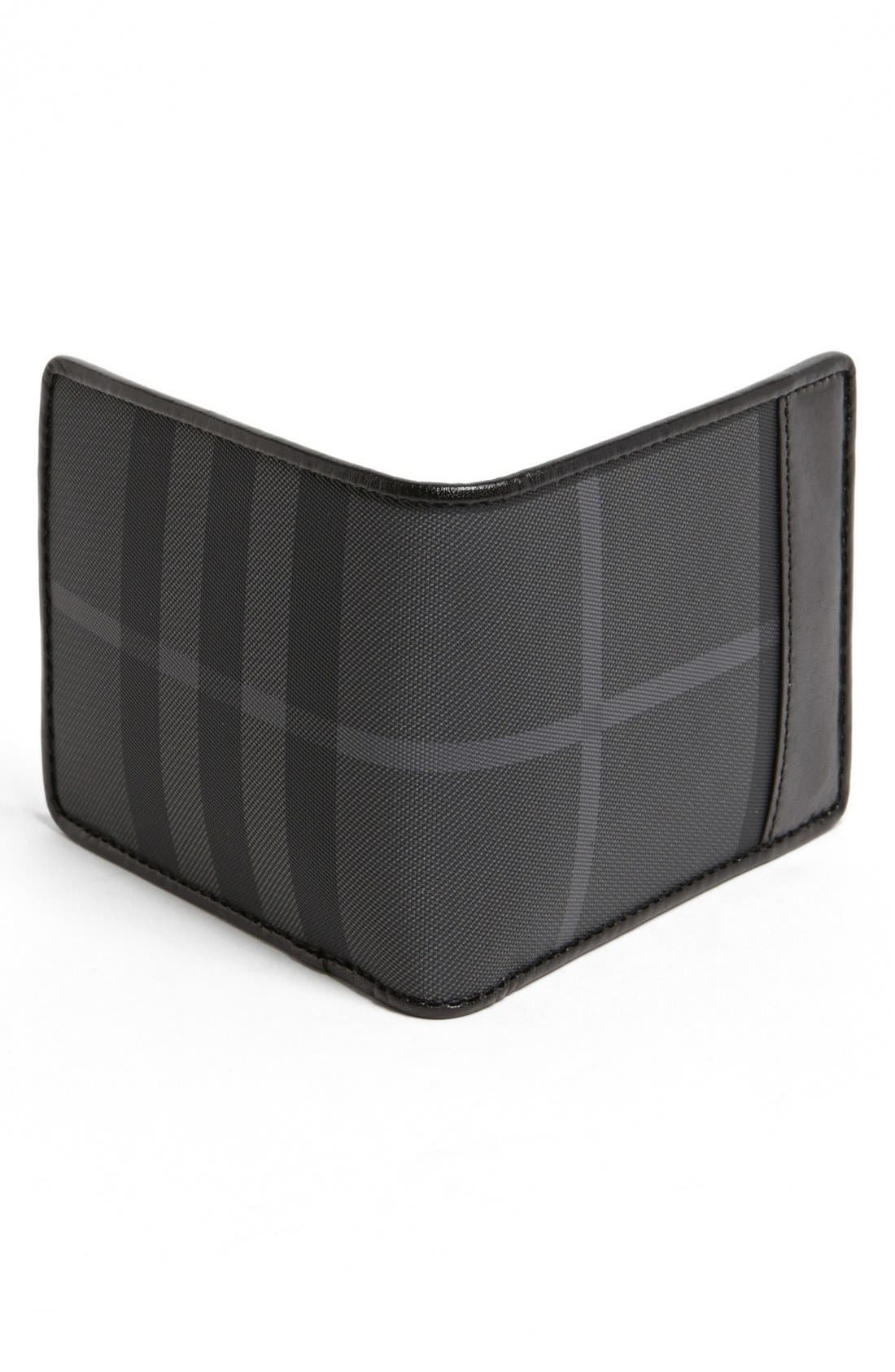 Alternate Image 3  - Burberry Check Small Bifold Wallet
