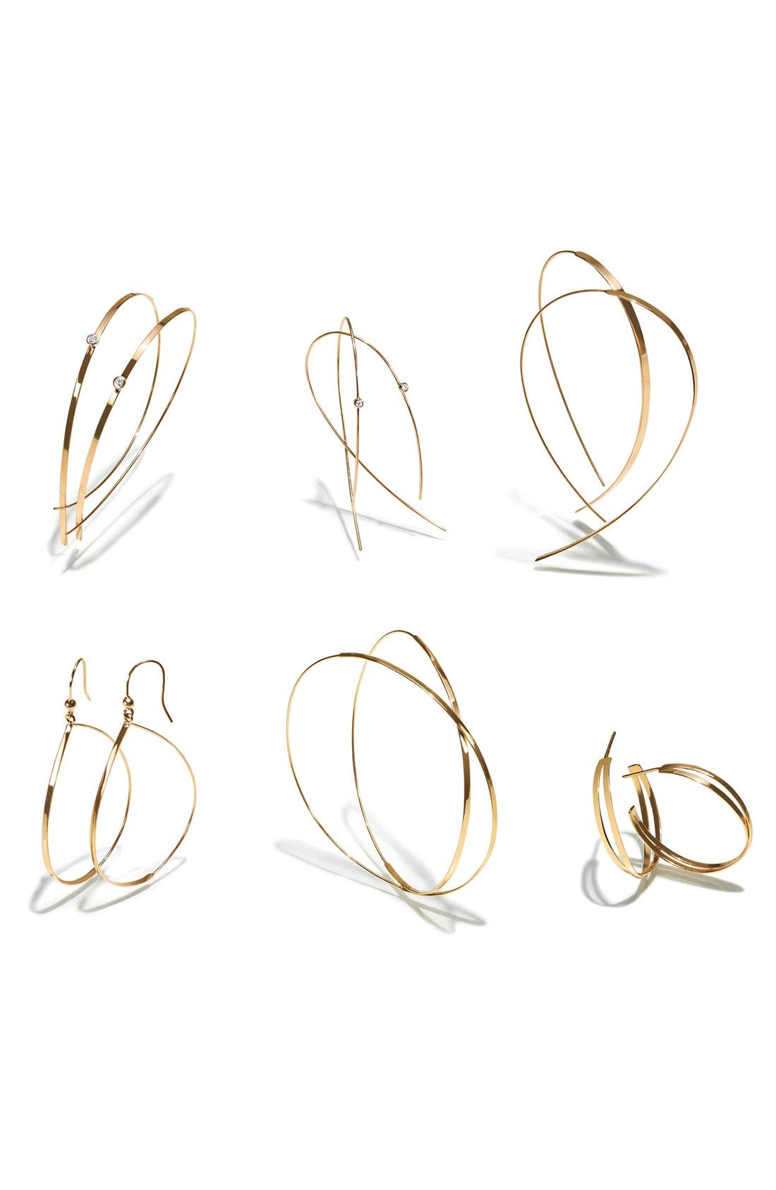 Alternate Image 2  - Lana Jewelry 'White Night' Hoop Earrings