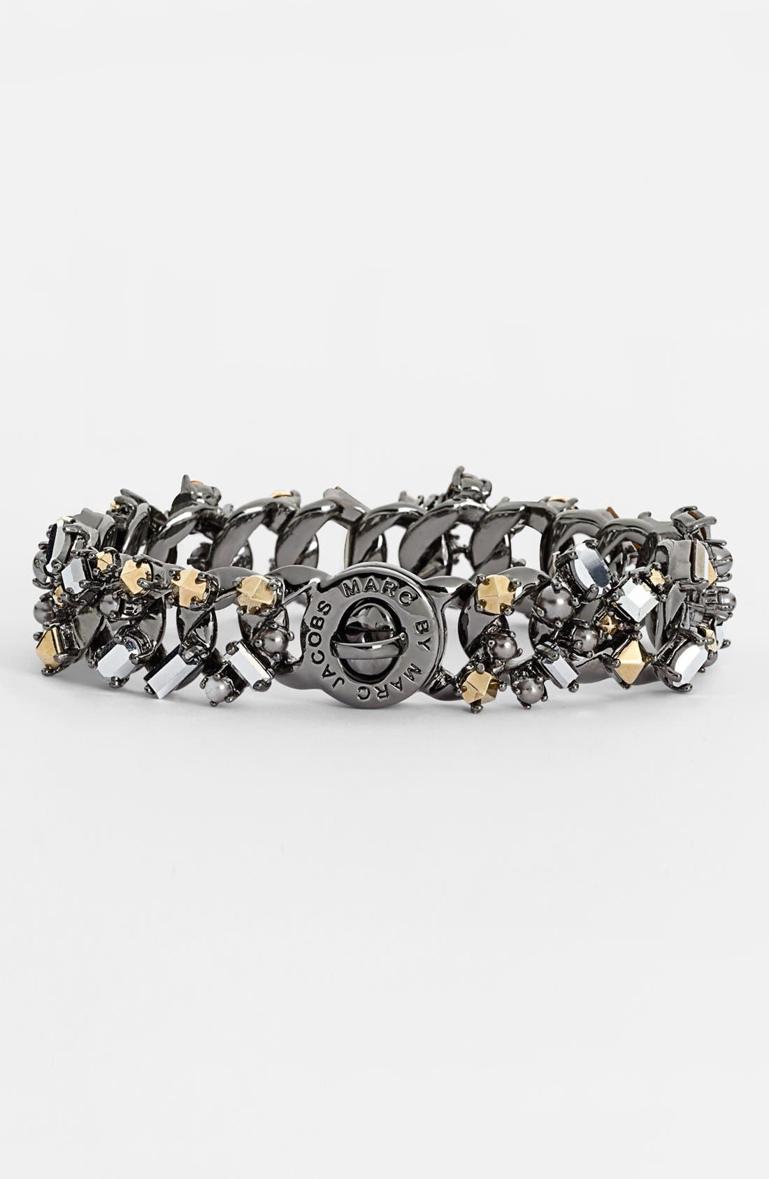 Alternate Image 1 Selected - MARC BY MARC JACOBS 'Link to Katie - Small' Embellished Bracelet