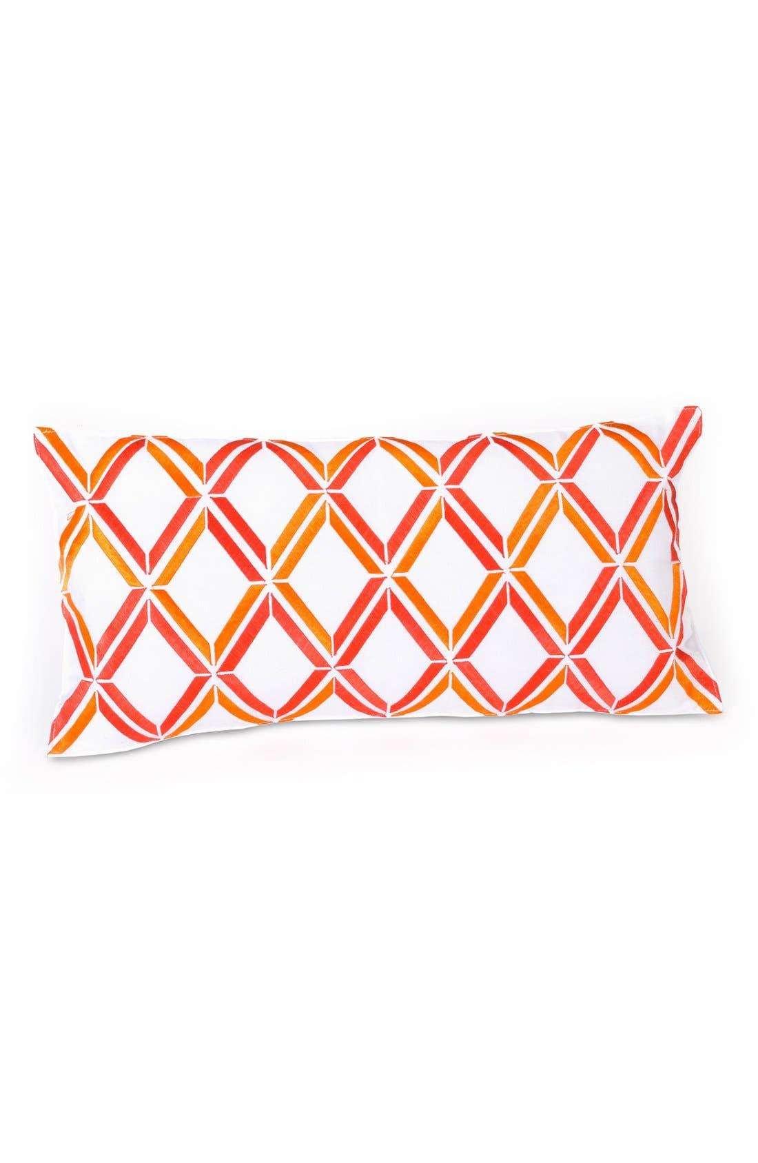 Main Image - Trina Turk 'Peacock Punch - Diamond' Pillow