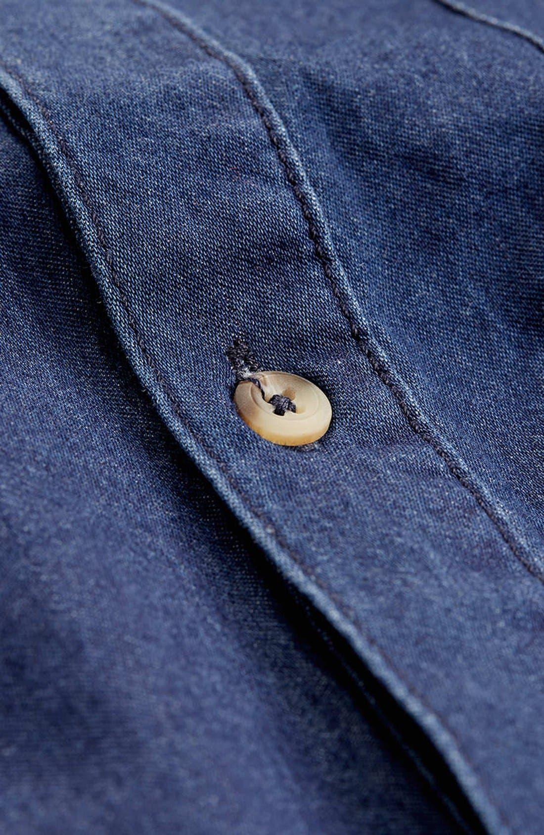 Alternate Image 2  - Topman Denim Shirt