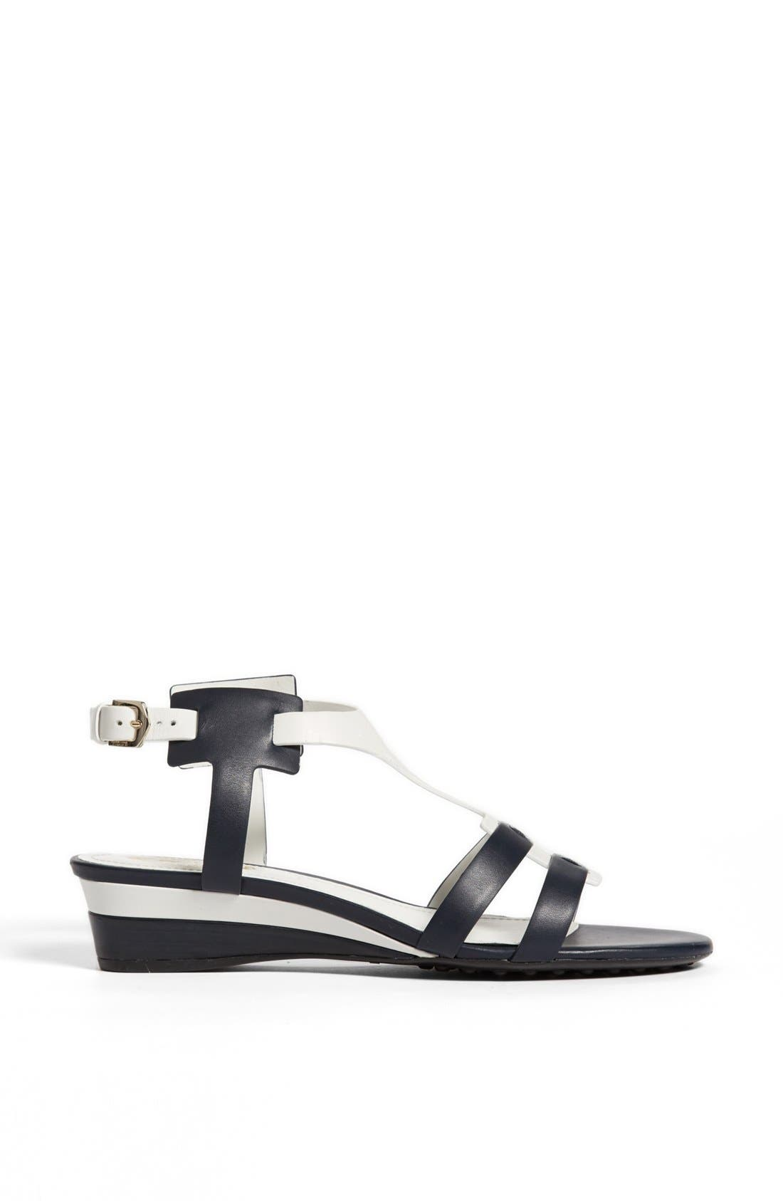Alternate Image 4  - Tod's 'Zeppa' Wedge Sandal