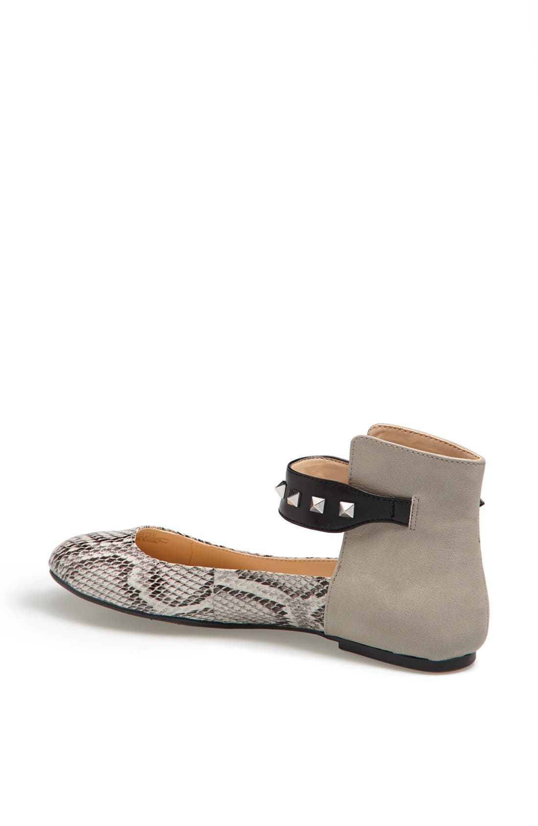 Alternate Image 2  - Jessica Simpson 'Munney' Studded Ankle Strap Flat