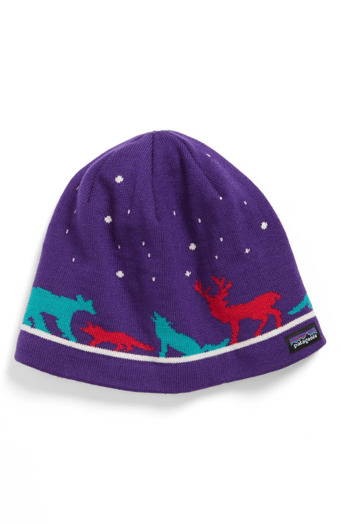 Alternate Image 1 Selected - Patagonia Knit Beanie (Girls)