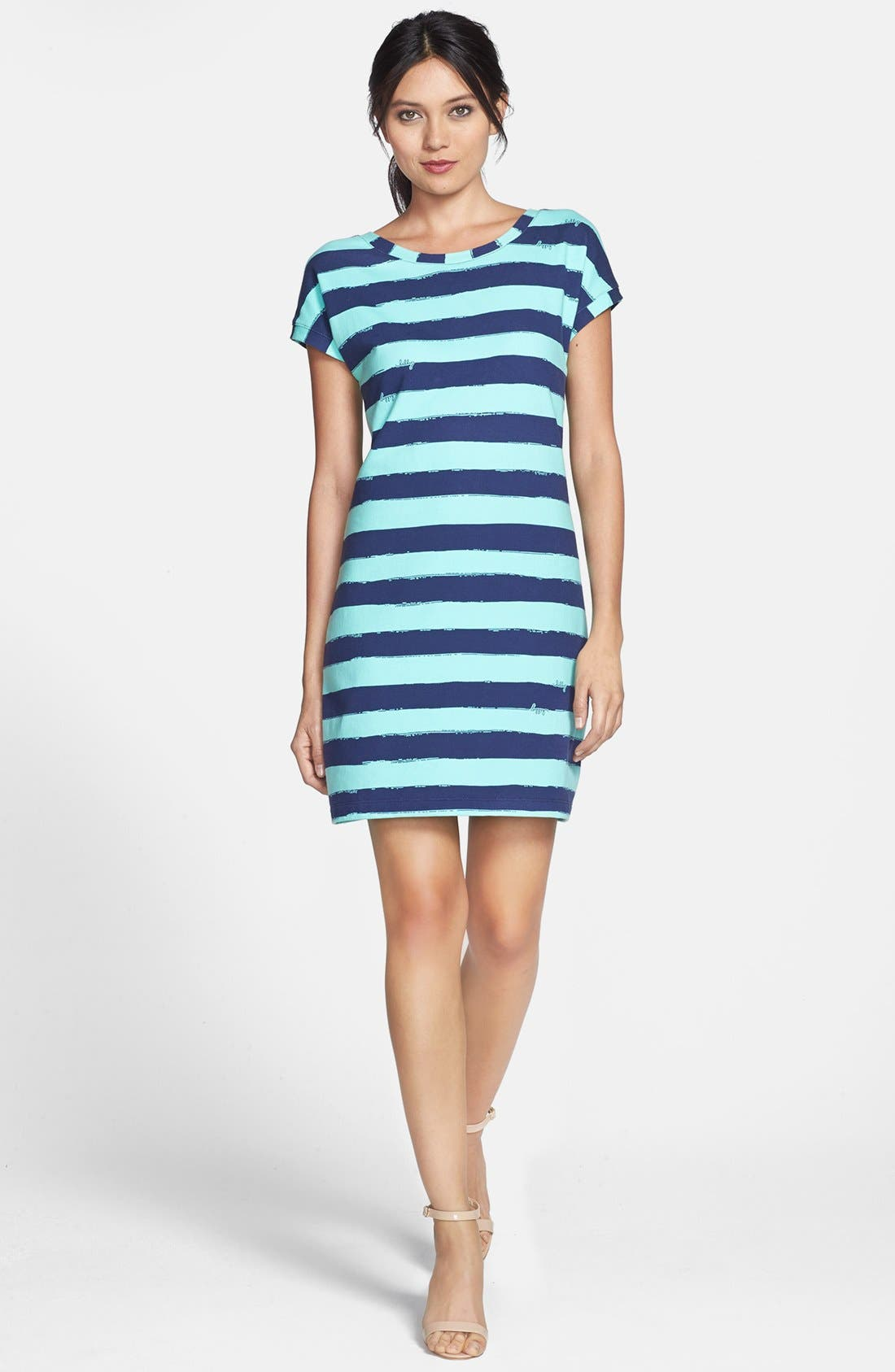 Main Image - Lilly Pulitzer® 'Anastasia' Stripe French Terry Shift Dress