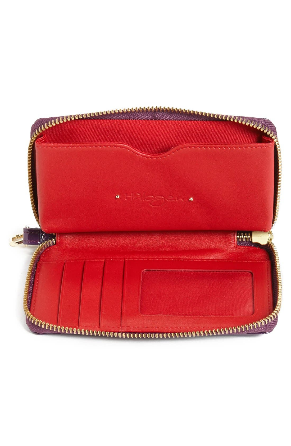 Alternate Image 2  - Halogen® 'Cassie' Leather Phone Wallet