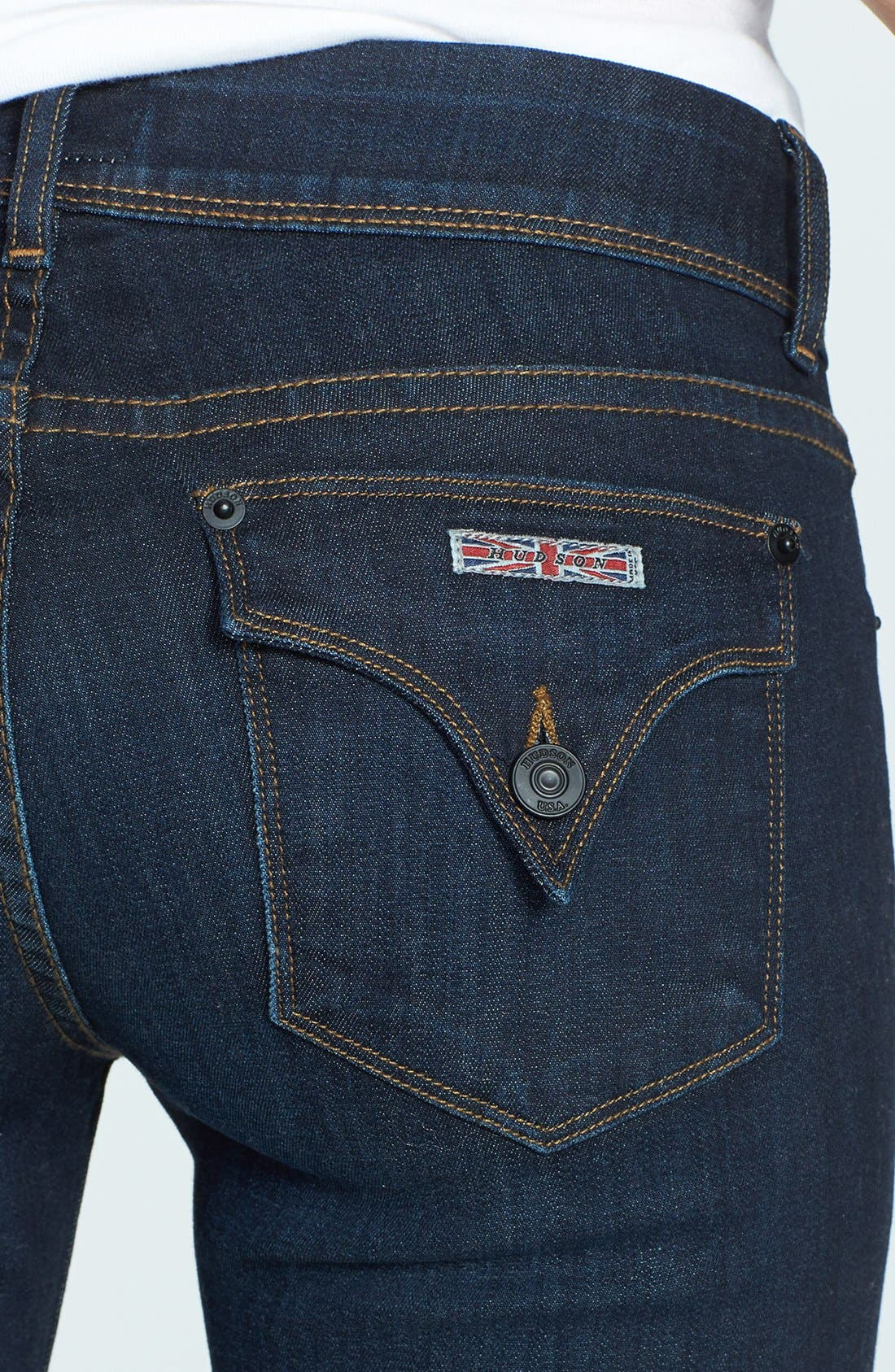 Alternate Image 3  - Hudson Jeans 'Ginny' Straight Leg Jeans (London Calling)