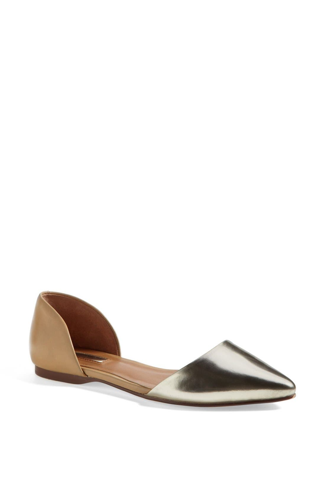 Alternate Image 1 Selected - Halogen® 'Kayla' Pointy Toe Flat