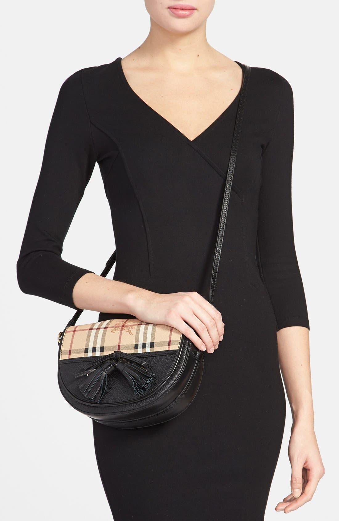 Alternate Image 2  - Burberry 'Small Maydown' Leather Crossbody Bag