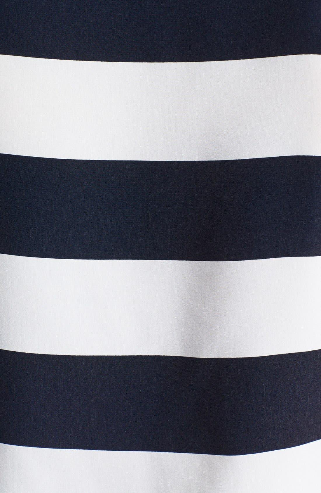 Alternate Image 3  - Vince Camuto 'Yacht Stripe' Boatneck Blouse (Regular & Petite)