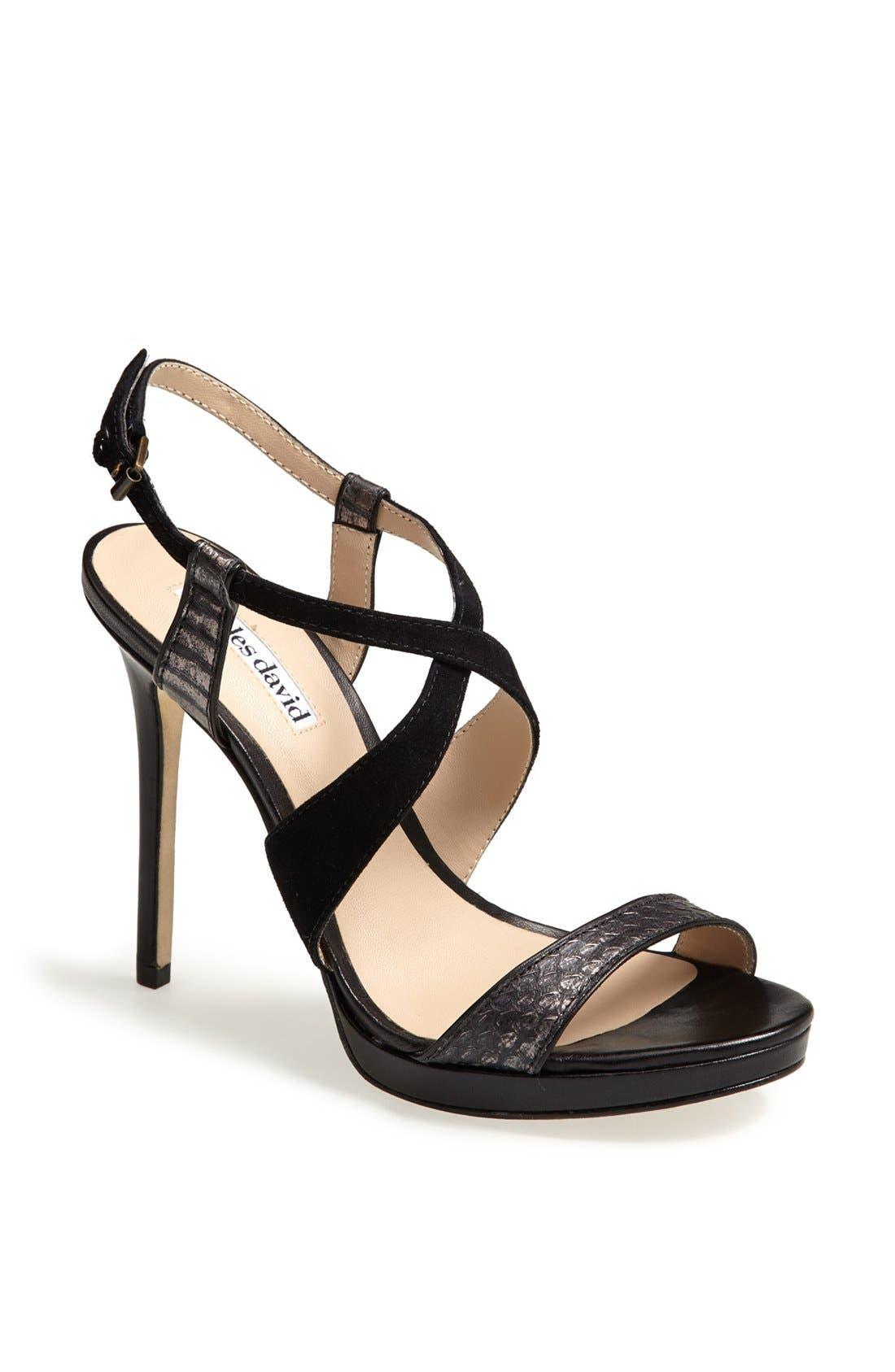 Alternate Image 1 Selected - Charles David 'Hermosa' Platform Sandal