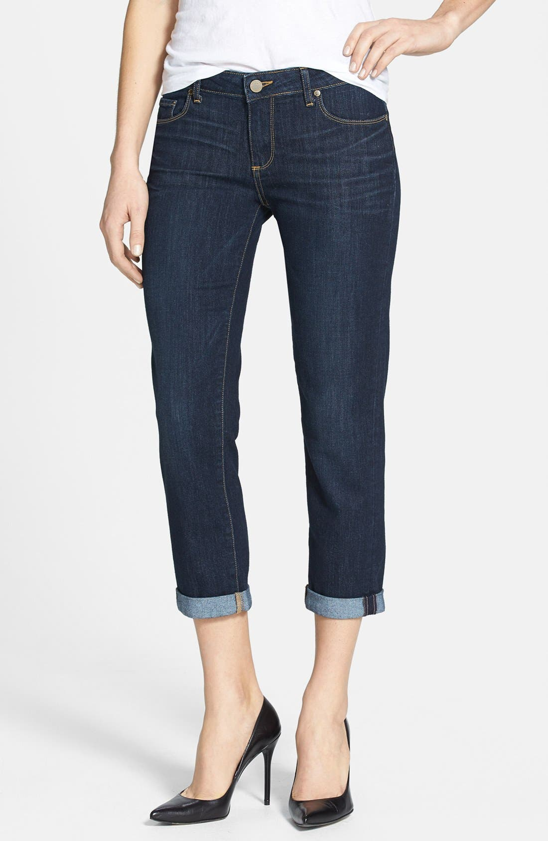 Main Image - Paige Denim 'Jimmy Jimmy' Crop Skinny Jeans (Highland)
