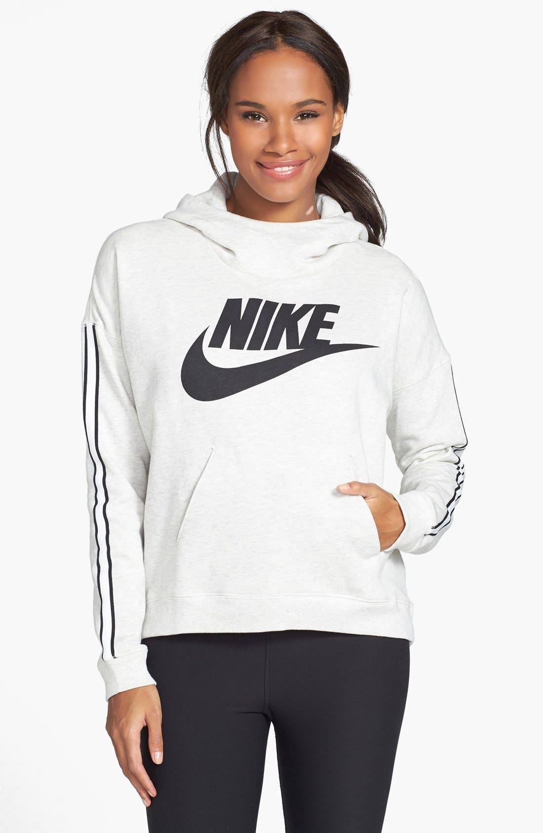 Alternate Image 1 Selected - Nike 'District 72' Hooded Pullover