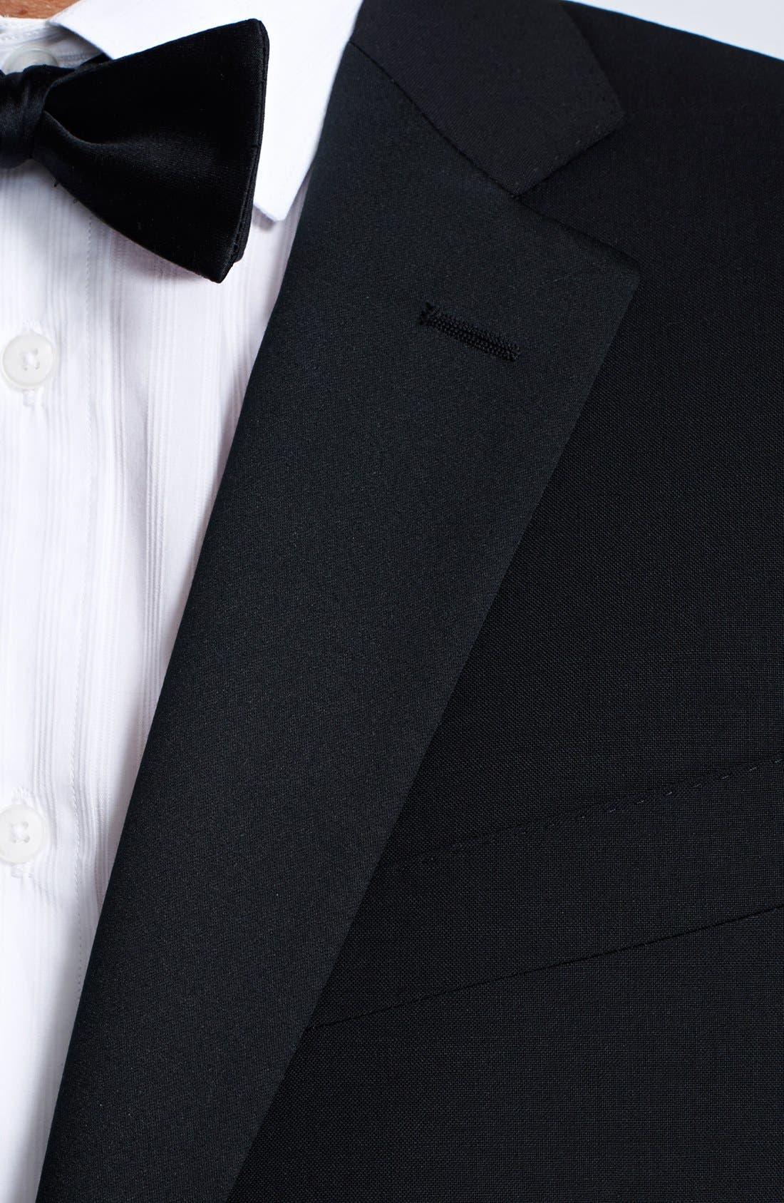 Alternate Image 5  - Canali Trim Fit Wool/Mohair Tuxedo