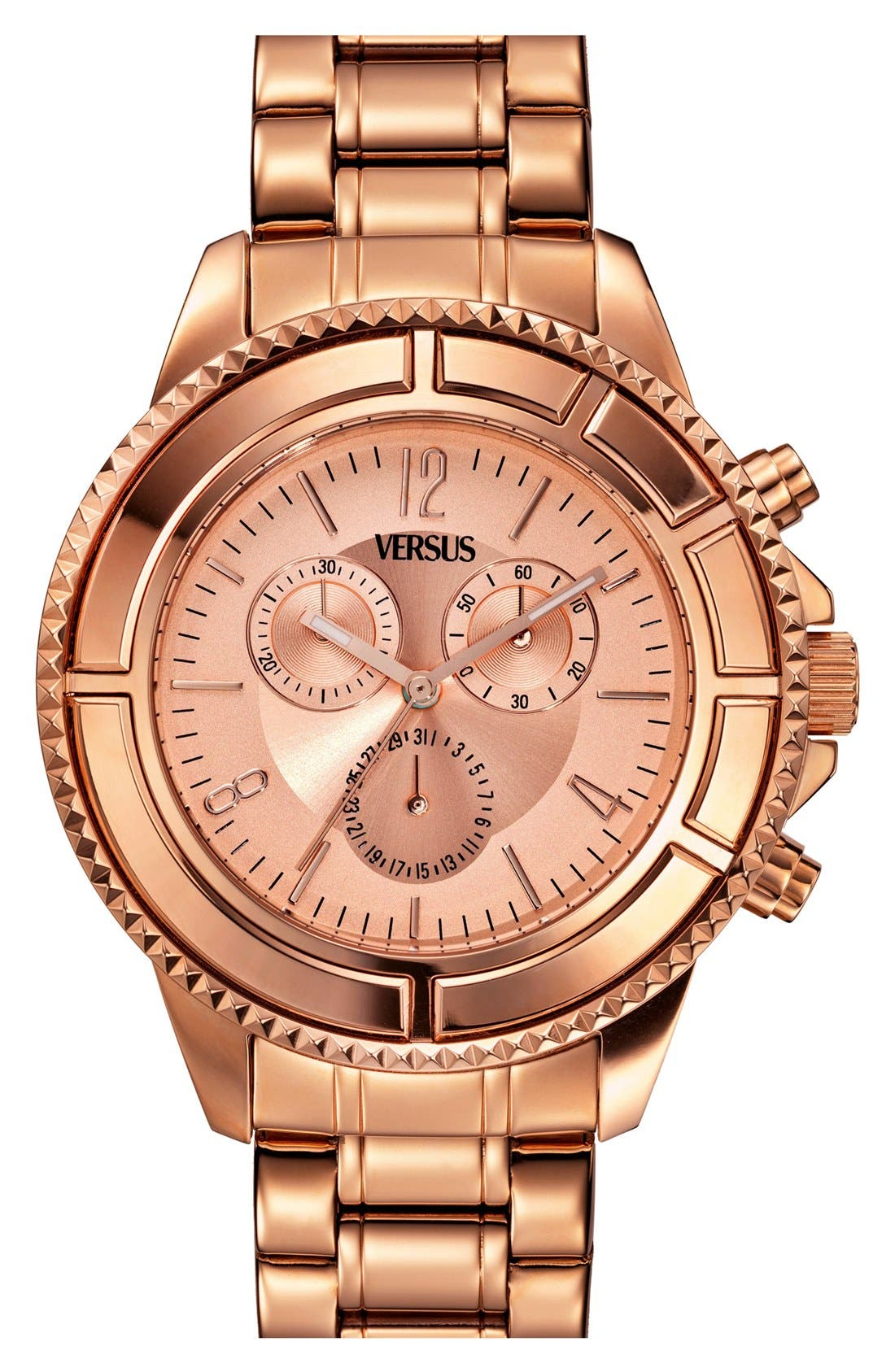 Main Image - VERSUS by Versace 'Tokyo' Chronograph Bracelet Watch, 44mm