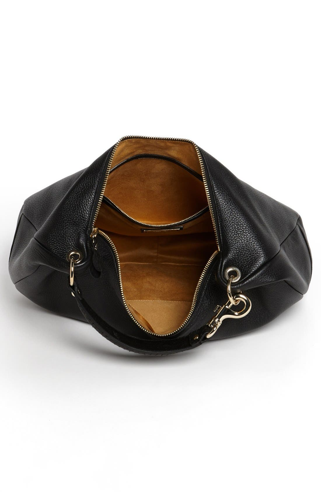 Alternate Image 3  - Jimmy Choo 'Large Solar' Leather Hobo