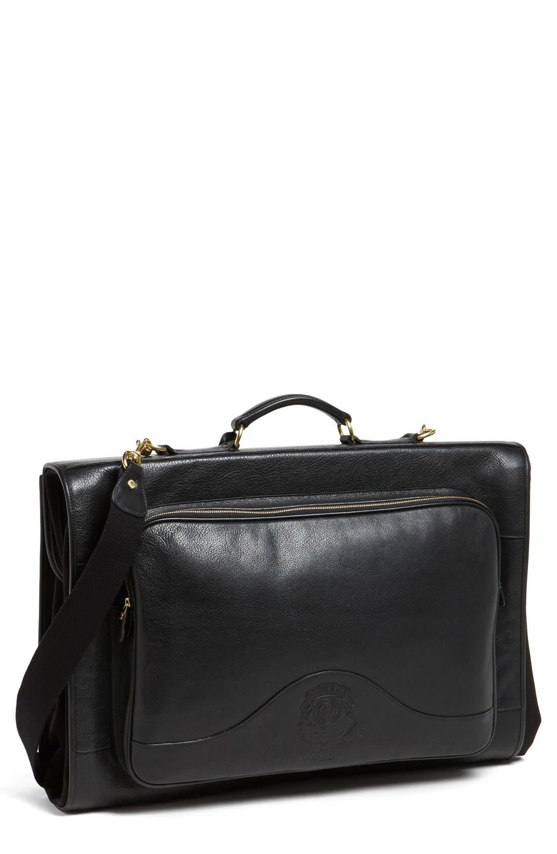 Main Image - Ghurka 'Packet No. 83' Leather Garment Bag