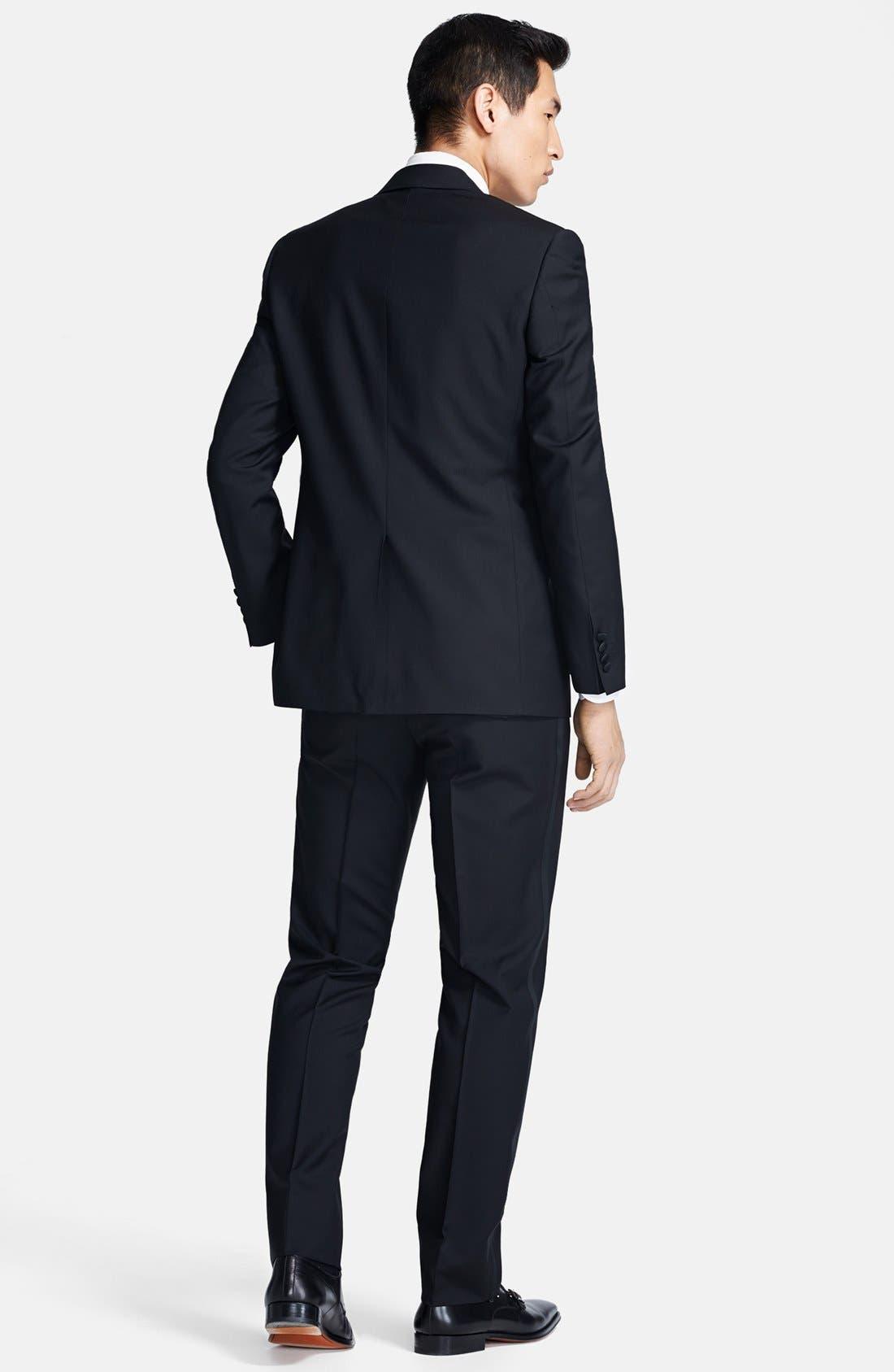 Alternate Image 2  - Canali Trim Fit Wool/Mohair Tuxedo