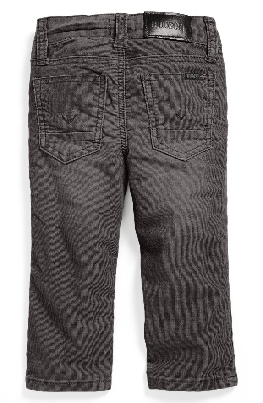 Alternate Image 1 Selected - Hudson Kids 'Parker' Corduroy Jeans (Baby Boys)