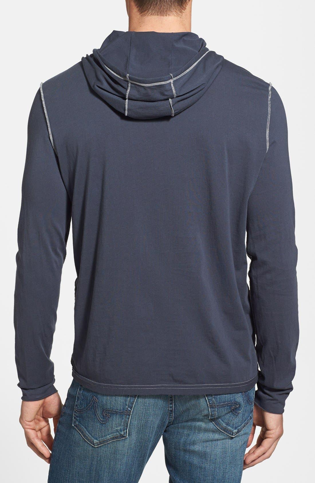 Alternate Image 2  - John Varvatos Star USA Pullover Knit Hoodie
