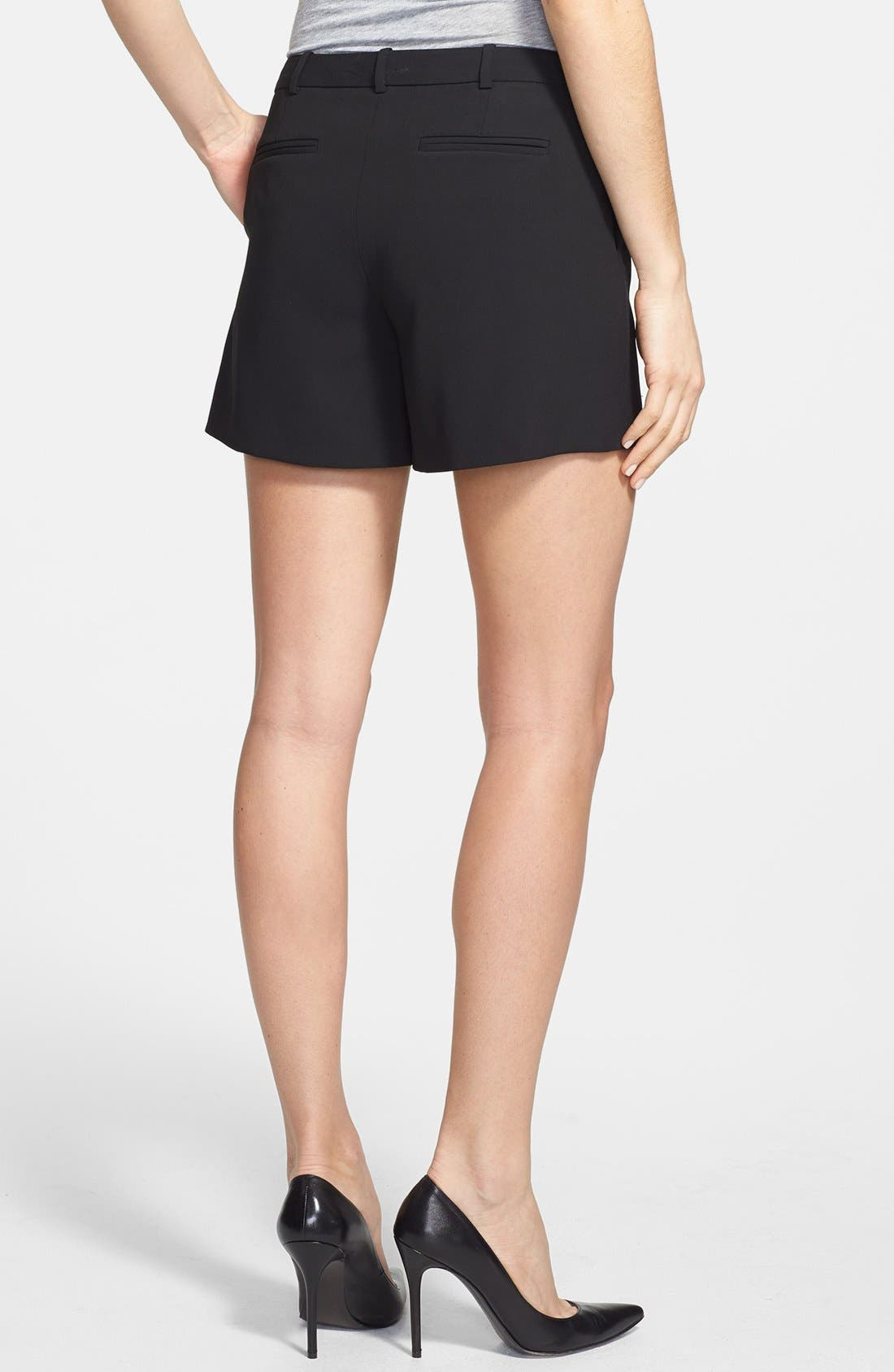 Alternate Image 2  - Halogen® Pleat Front Shorts