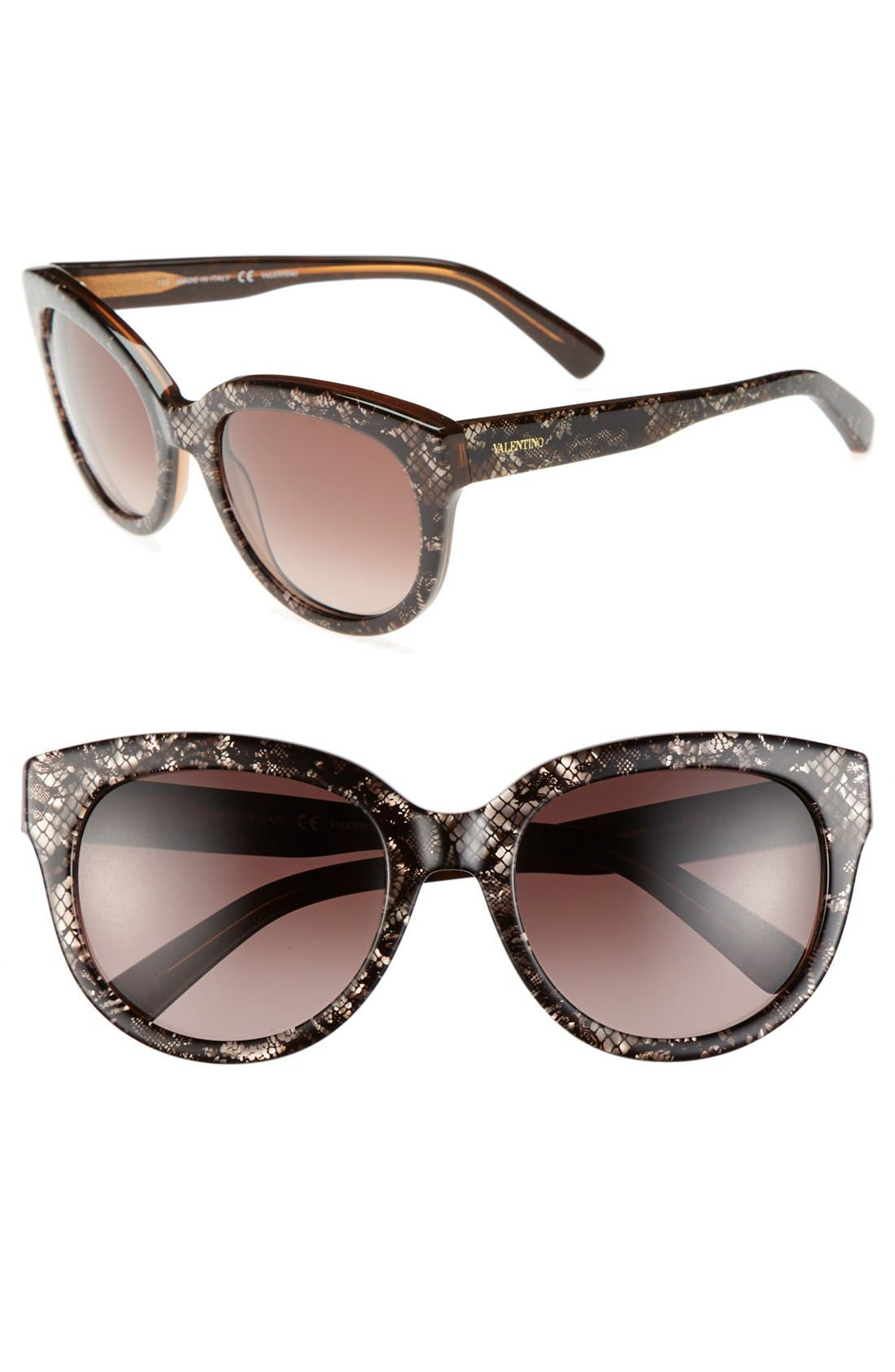 Alternate Image 1 Selected - Valentino 54mm Retro Sunglasses