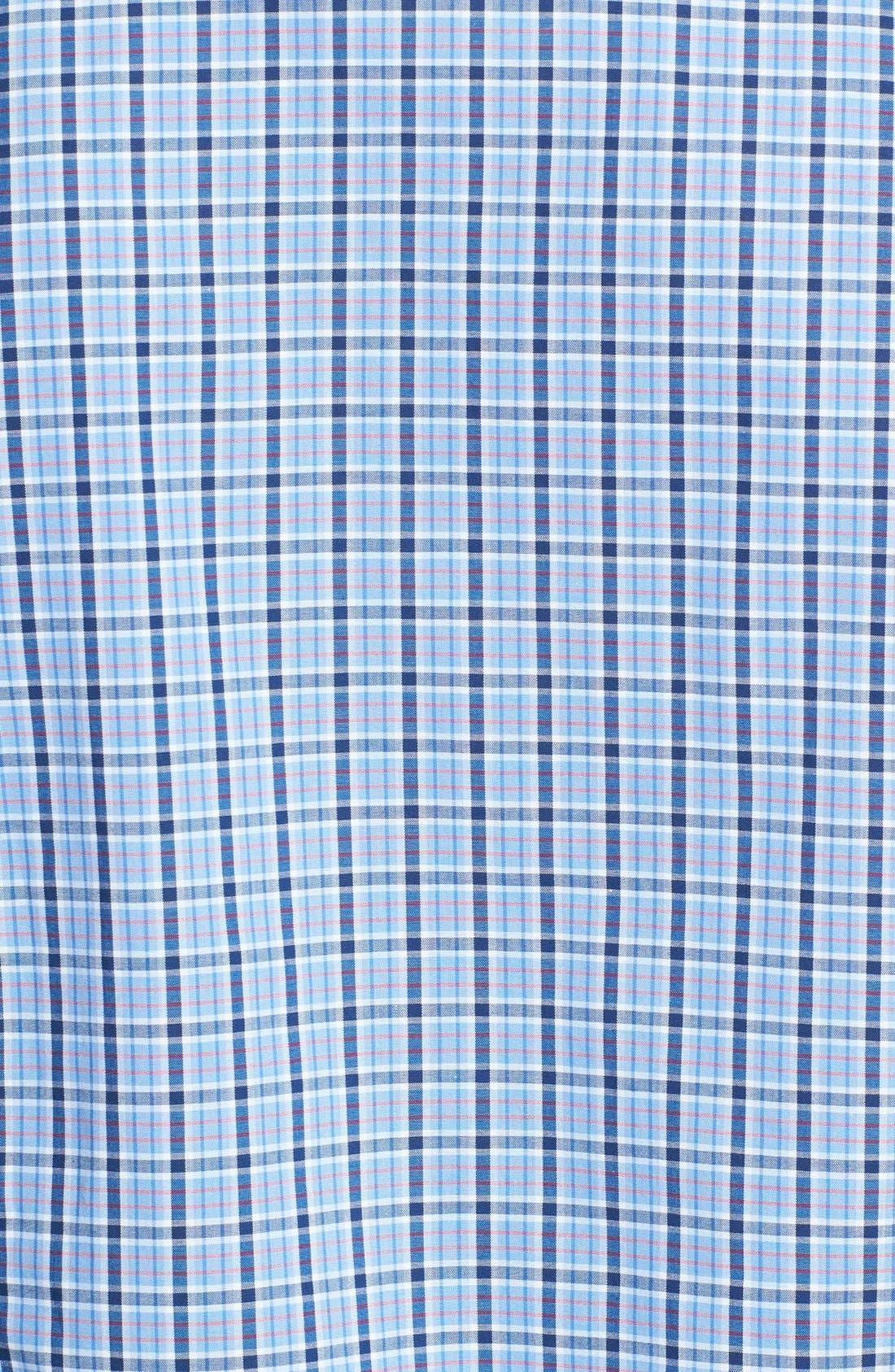 Alternate Image 3  - BOSS HUGO BOSS 'Obert' Plaid Sport Shirt