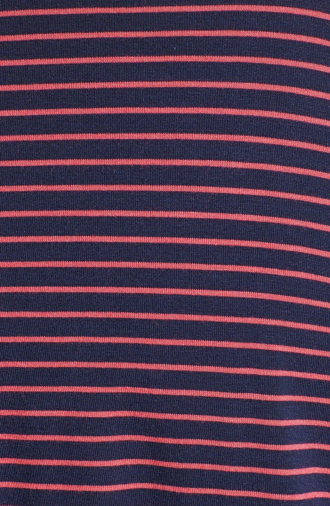 Alternate Image 3  - Caslon® Three Quarter Sleeve Knit Dress (Plus Size)