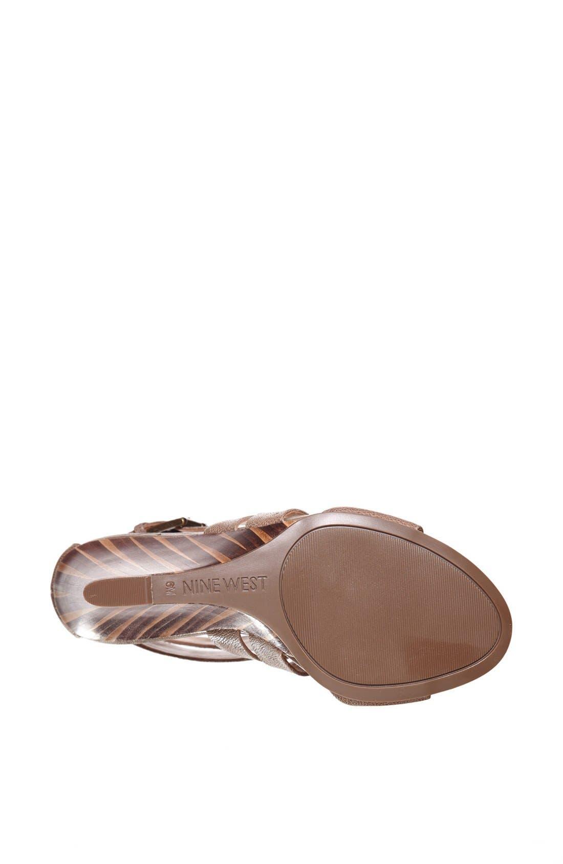 Alternate Image 4  - Nine West 'Maureen' Wedge Sandal