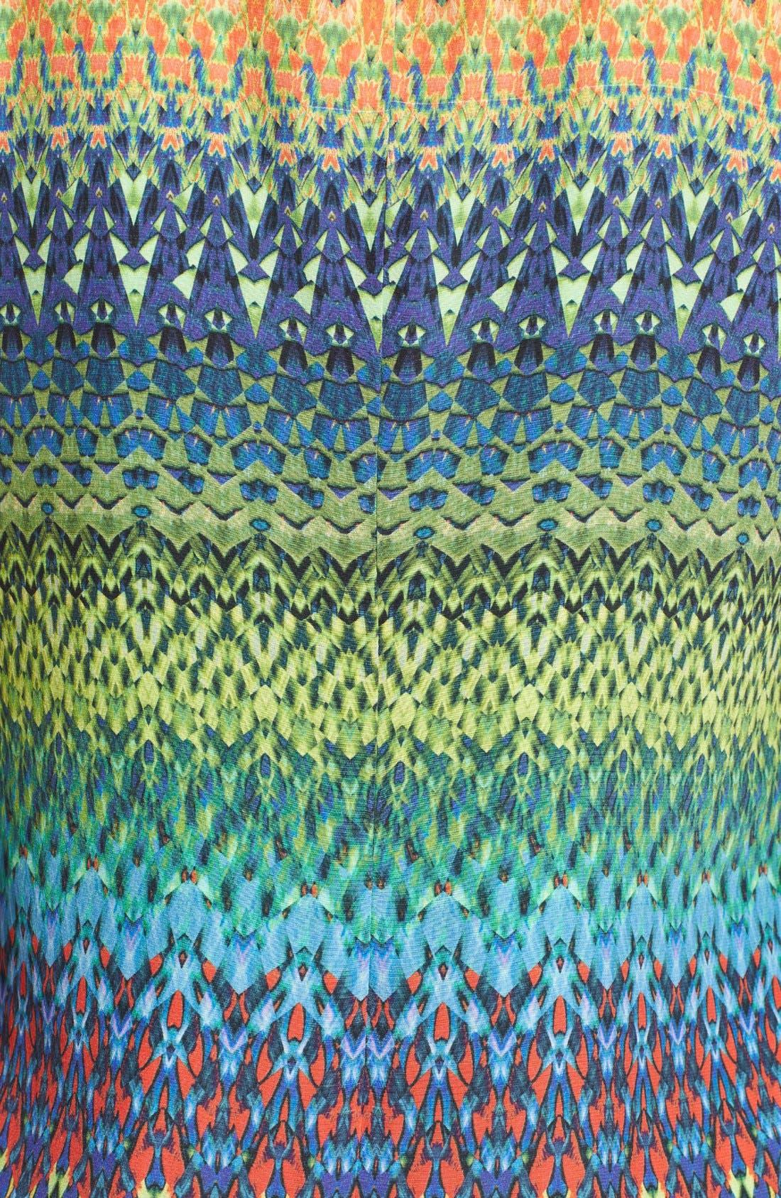 Alternate Image 3  - M Missoni Print Silk Shift Dress