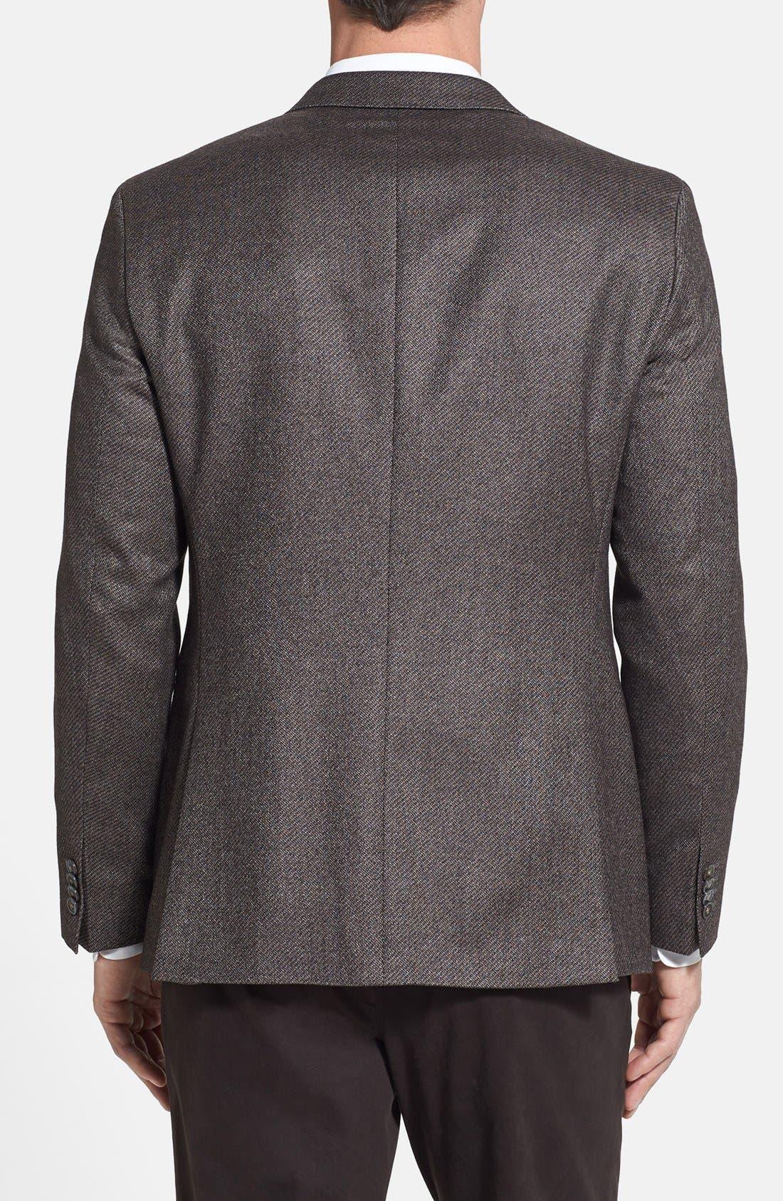 Alternate Image 2  - BOSS HUGO BOSS 'Johnston' Classic Fit Three-Button Sportcoat