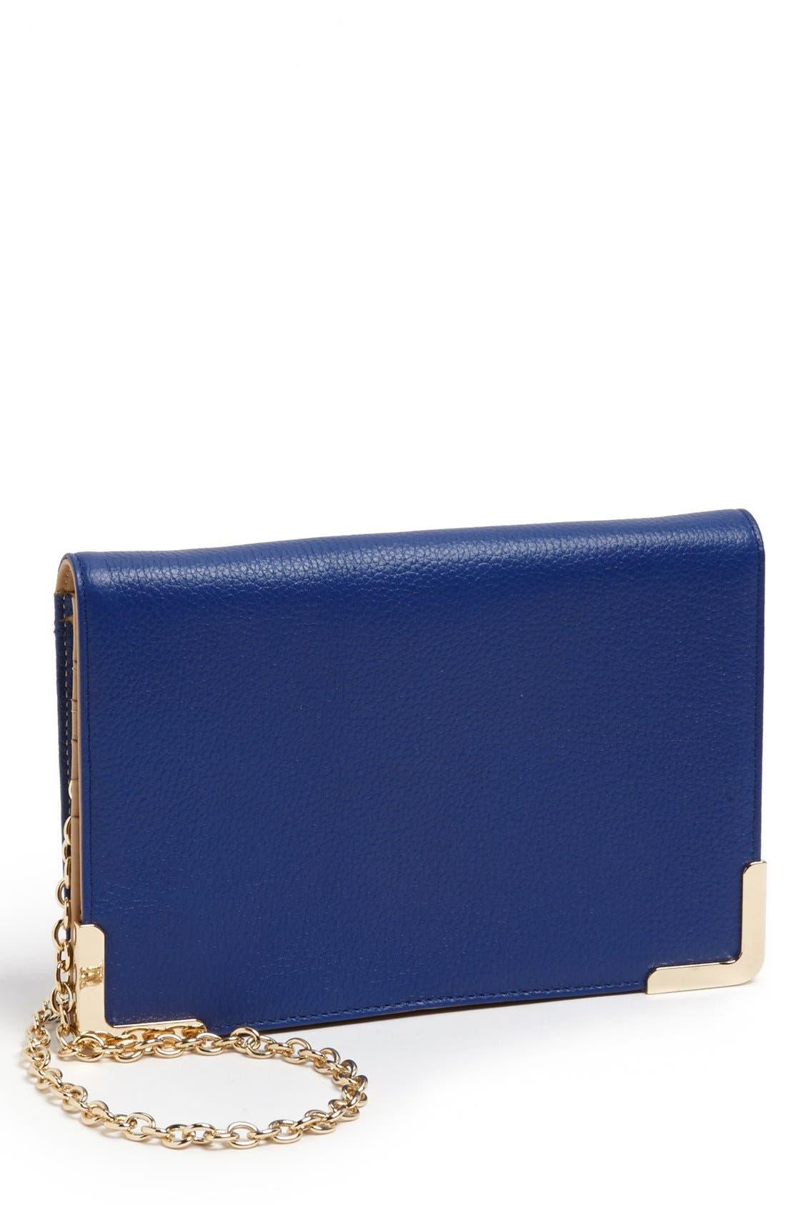 Alternate Image 1 Selected - Trouvé Leather Crossbody Bag