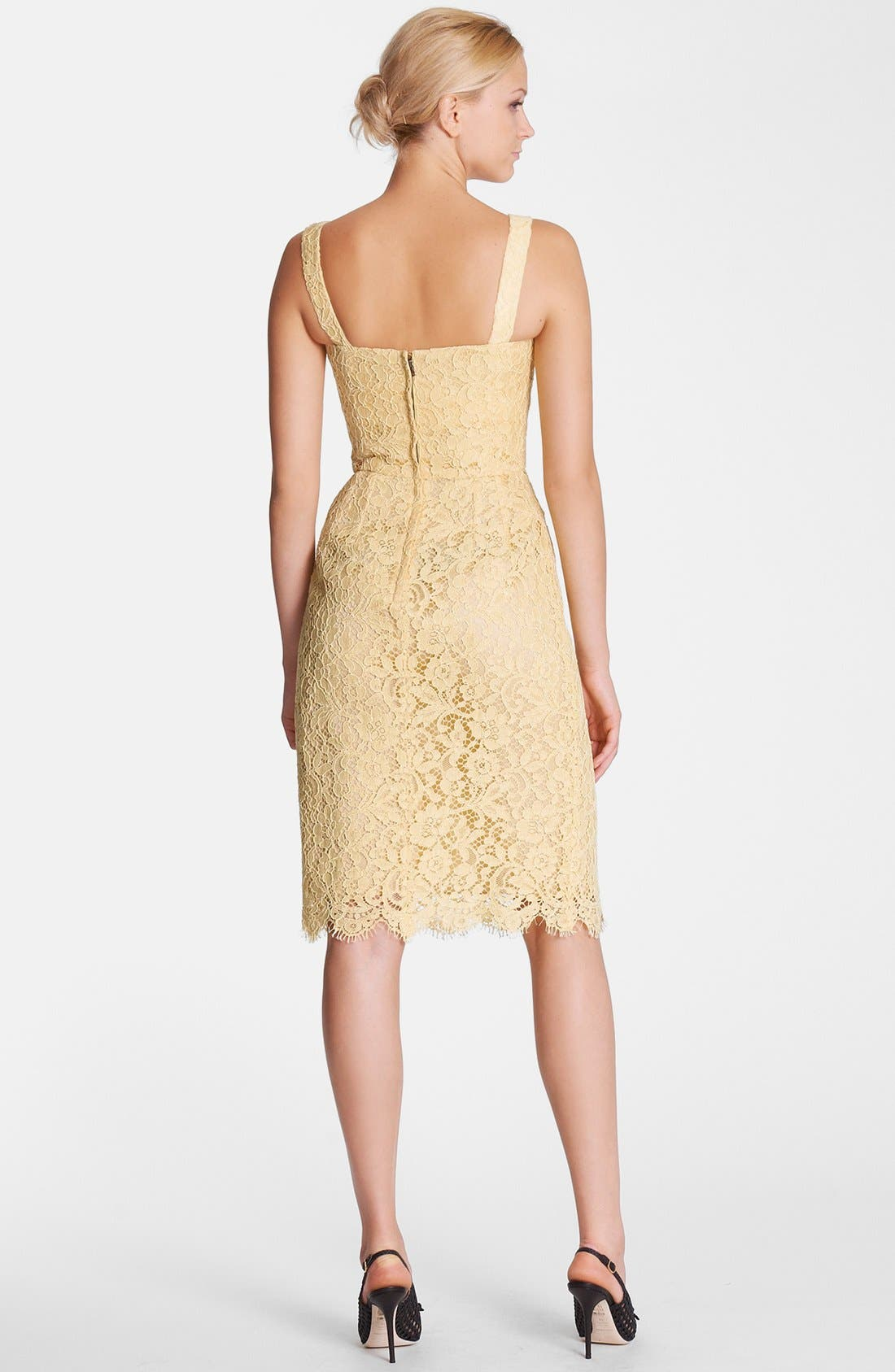 Alternate Image 2  - Dolce&Gabbana Lace Tank Dress