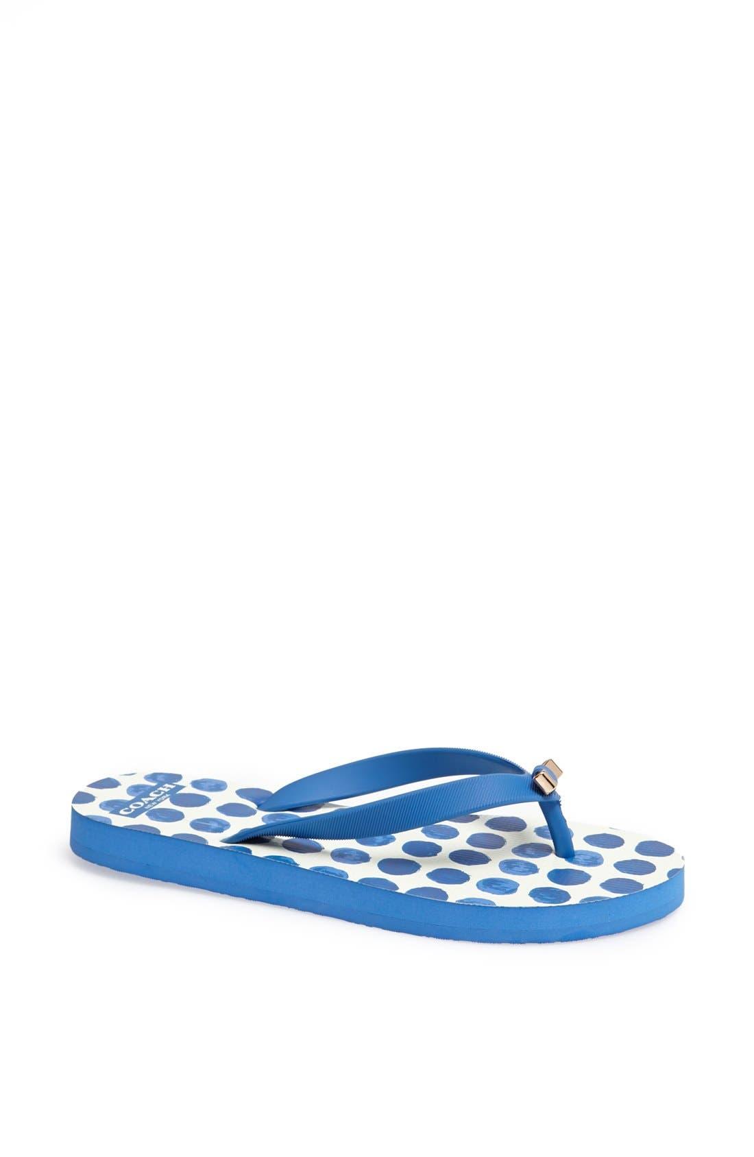Main Image - COACH 'Amel' Flip Flop