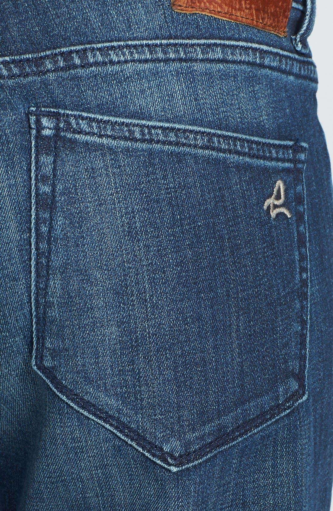 Alternate Image 3  - DL1961 'Riley' Boyfriend Jeans (Nassau)