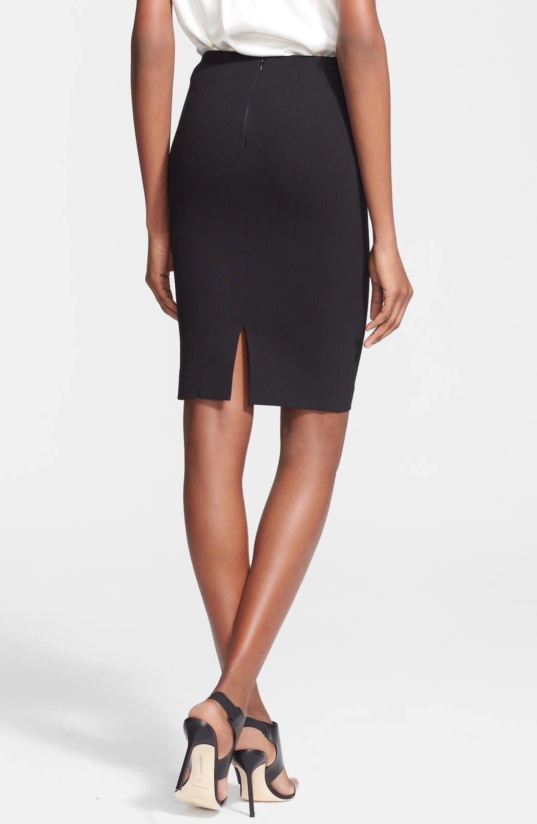 Alternate Image 2  - M Missoni Ponte Knit Pencil Skirt