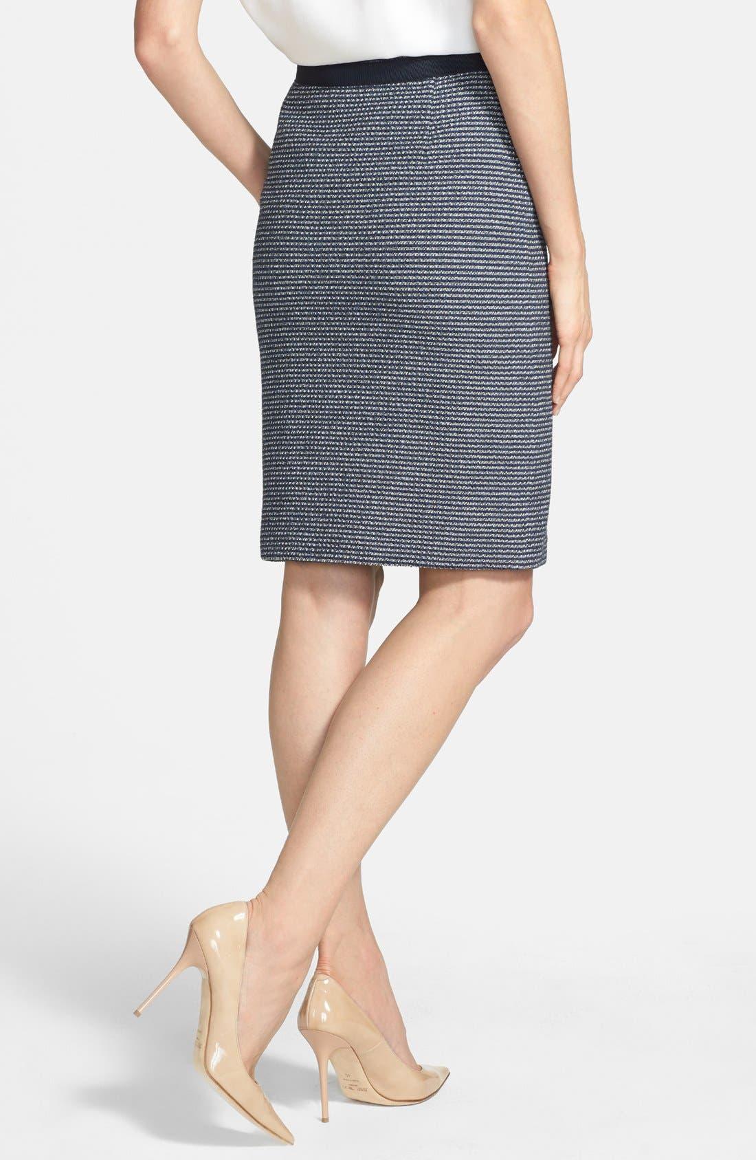 Alternate Image 2  - Weekend Max Mara 'Acqua' Yarn Dyed Skirt