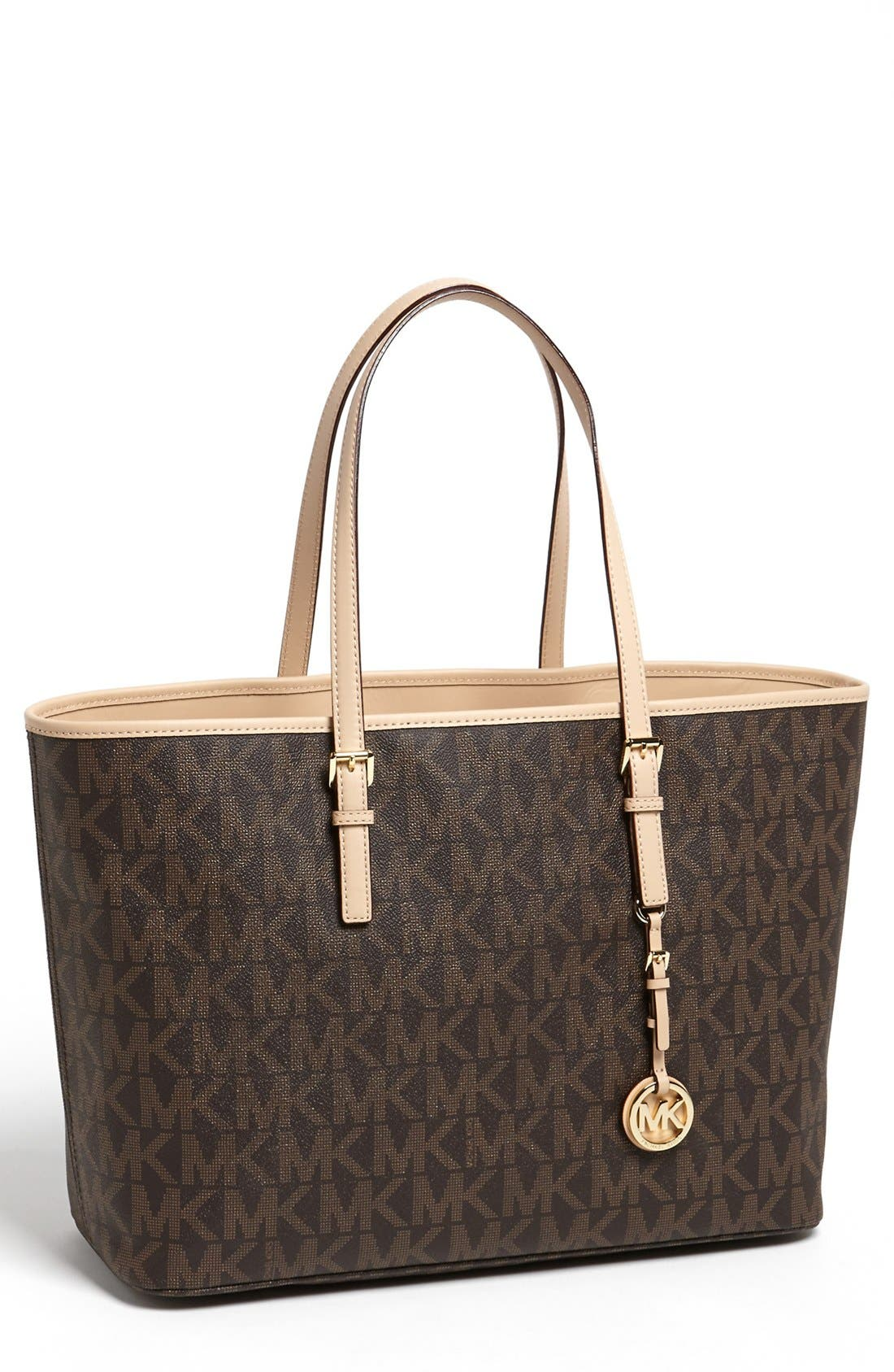 Main Image - MICHAEL Michael Kors 'Jet Set - Medium' Tech Tote