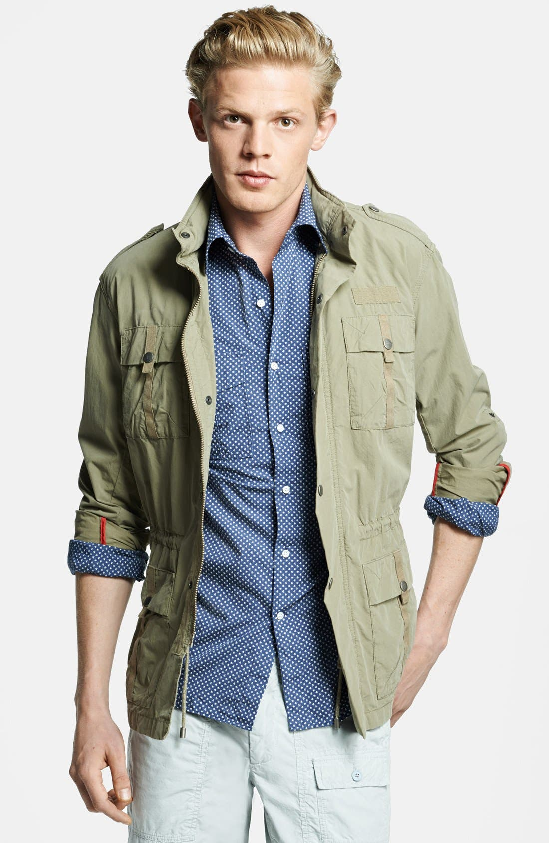 Main Image - Michael Bastian Lightweight Military Jacket