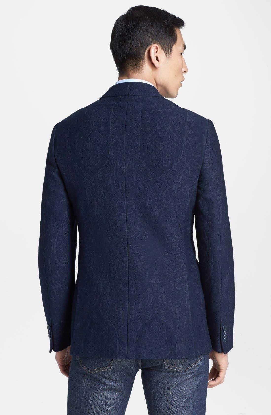 Alternate Image 2  - Etro Tonal Paisley Sportcoat